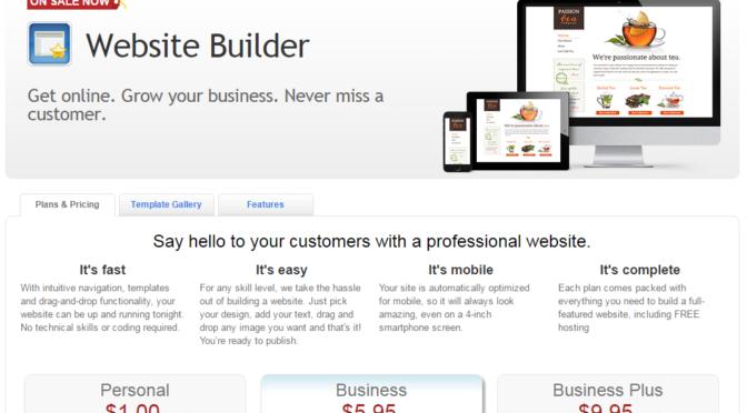 Website Builder Get online. Grow your business. Never miss a customer.