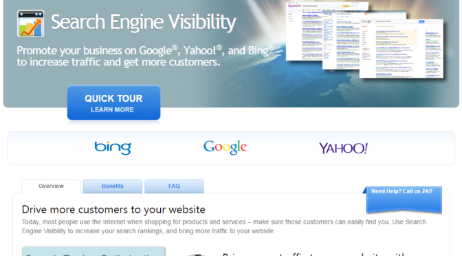 Promote your business on Google®, Yahoo!®, and Bing® to increase traffic and get more customers.